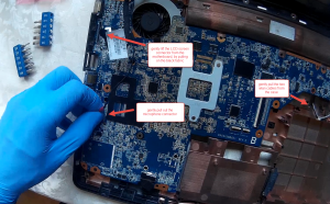 HP G62 webcam replacement.Still023
