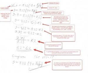 resistor value formula