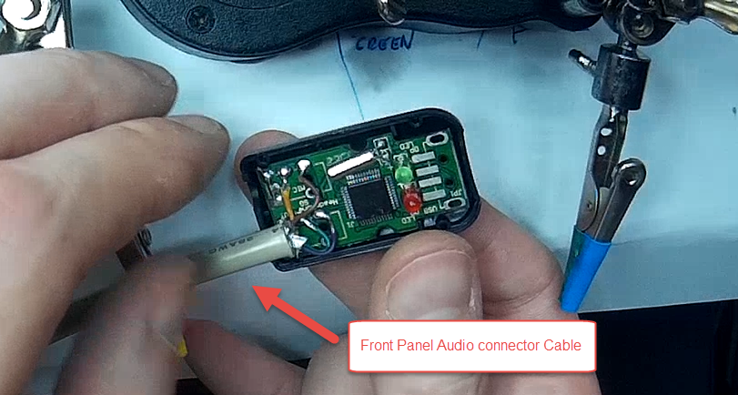 On board audio not working - bypass it with USB sound card