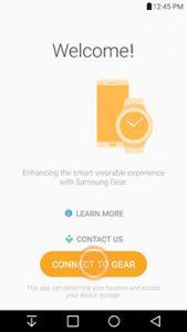 Galaxy Wearable app doesn't find Gear Fit 2