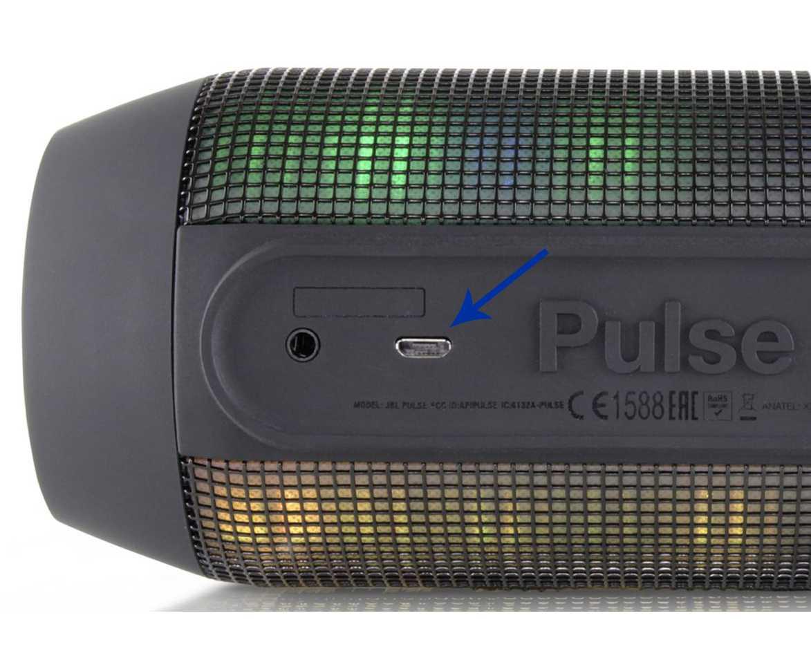JBL Pulse Bluetooth Speaker Faulty Charging Micro-USB Port