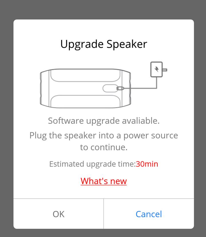 soundbrenner pulse does not upgrade firmware