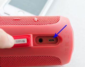 Service de réparation ou de remplacement du port micro-USB JBL Flip 4