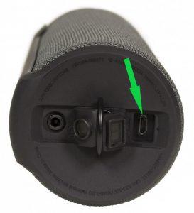 Servizio di sostituzione porta micro-usb di ricarica per UE BOOM 2