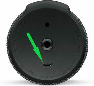 Servizio di sostituzione porta micro-usb di ricarica per UE BOOM