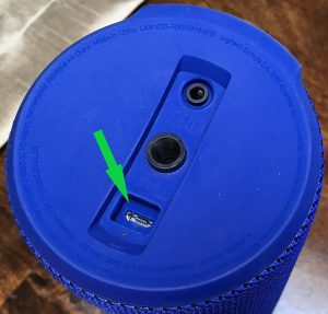 UE MEGABOOM Charging Connector - Micro-USB socket - port replacement service